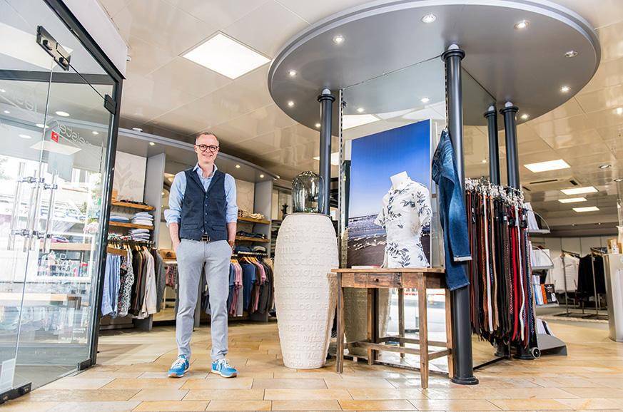 Immer Ihre erste Anlaufstelle für Designermarken und elegante Herrenbekleidung - Lesmeister Herrenmode