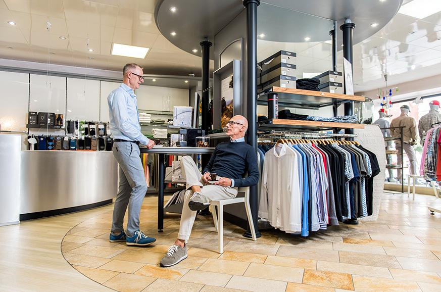 Exklusive Herrenbekleidung bekannter Marken und Designer Bekleidung